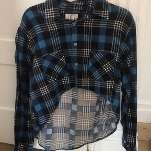 First of a Kind (LF) Cropped Flannel